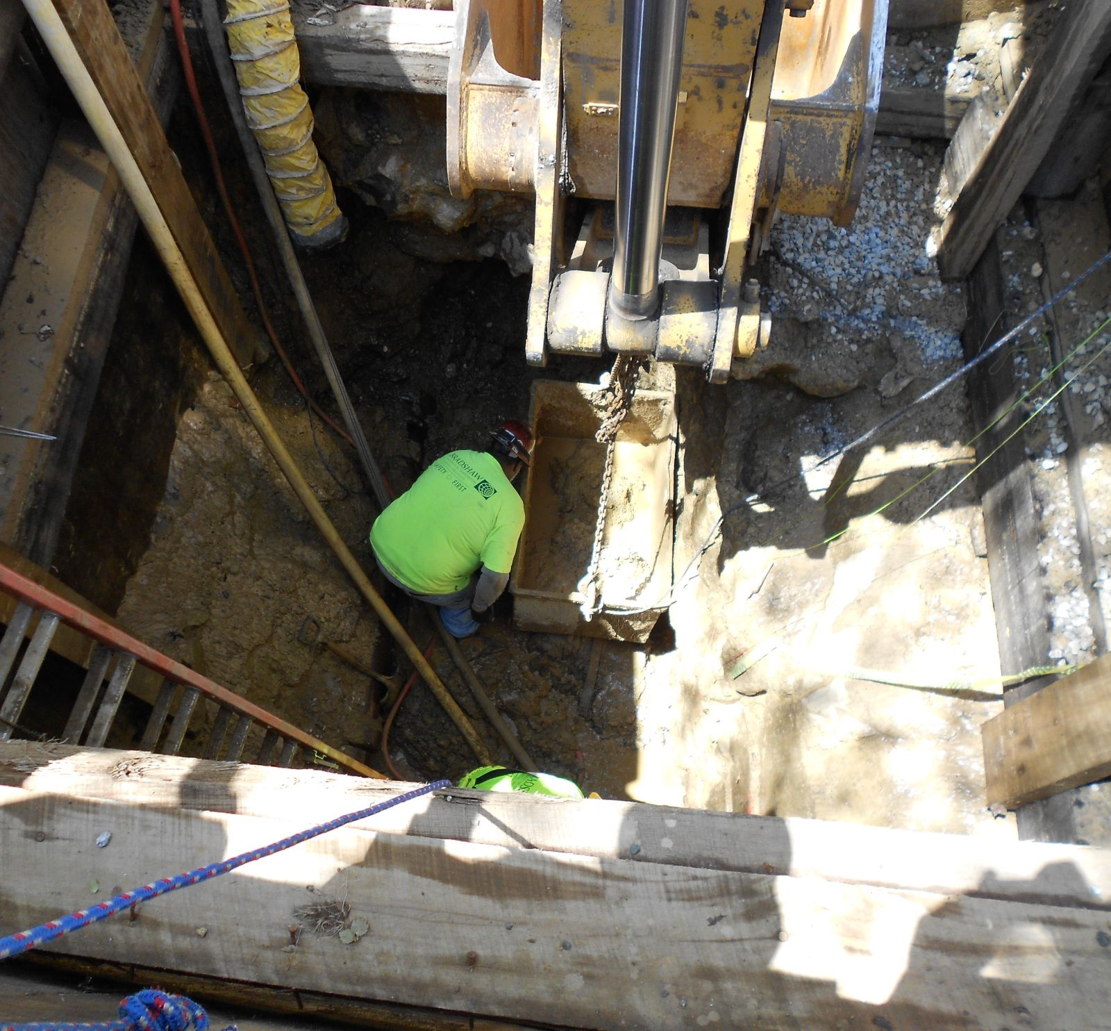 Projects - Hand Tunneling - Bradshaw Construction Corporation