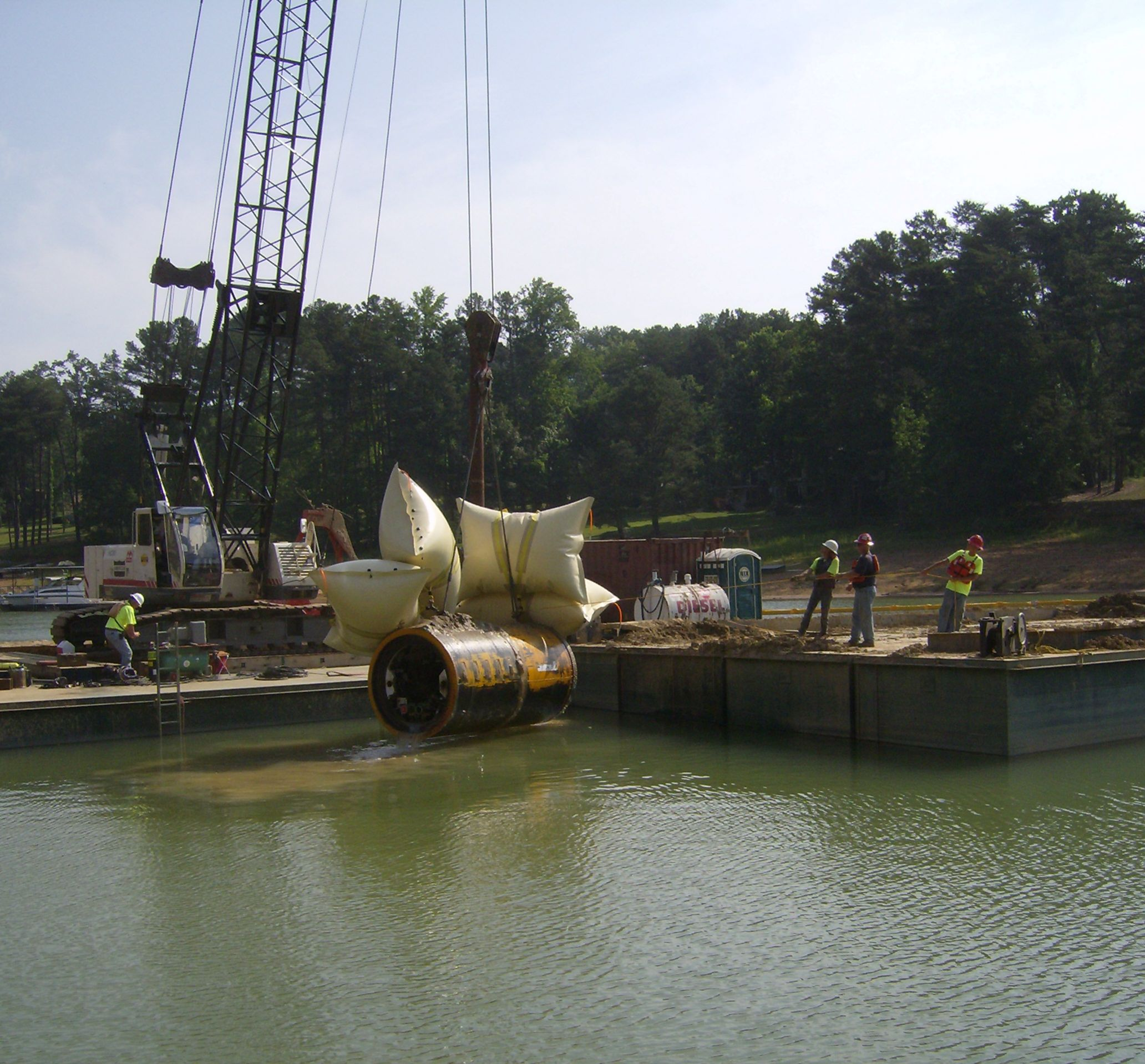 Projects - Microtunneling - Bradshaw Construction Corporation