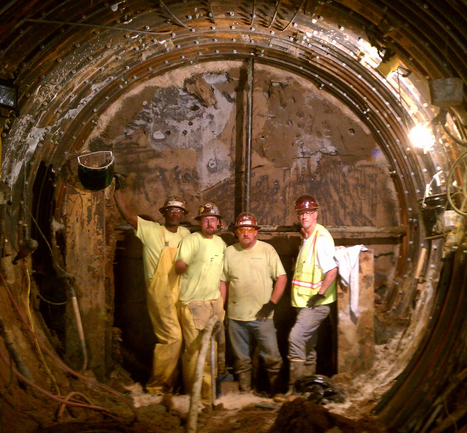 Projects Hand Tunneling Bradshaw Construction Corporation